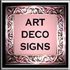 Art Deco Signs
