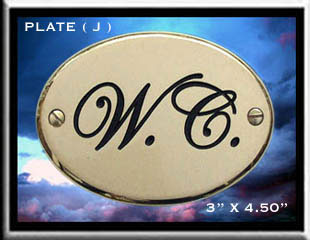 Orthographic Engraving Company: Custom Brass Plaques